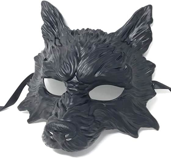 Storm Buy Scary Devil Wolf Mask Steampunk Style for Masquerade, Halloween