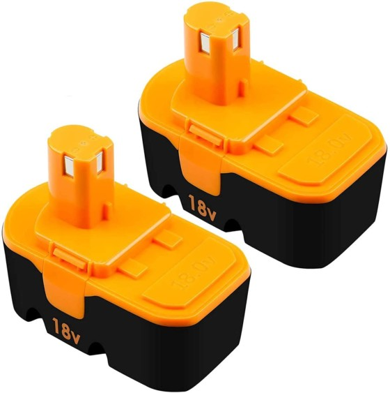 Ryobi 18V One+ Power Tools 2 Pack P100 Replacement