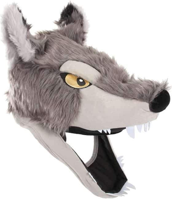 Elope Wolf Mask Hat Jawesome