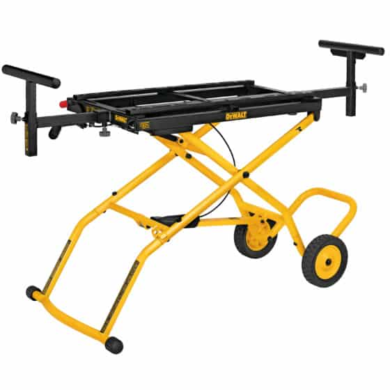 Durable Miter Saw Stand with Wheels